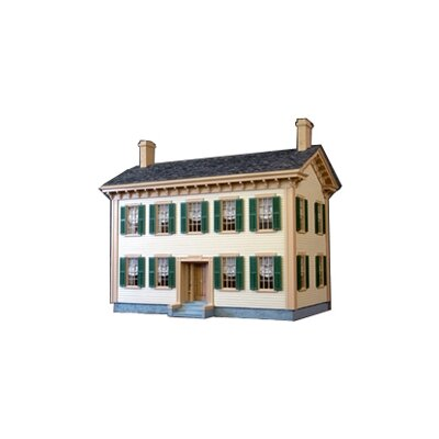 Historical Lincoln Springfield Home Dollhouse by Real Good Toys