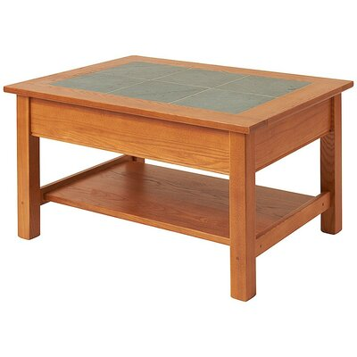 Coffee Table with Shelf by Manchester Wood
