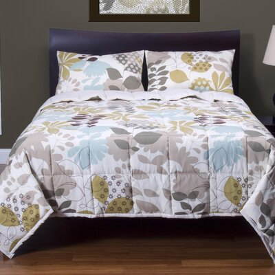 English Garden 3 Piece Quilt Set by Siscovers