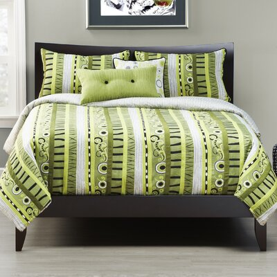 Green Valley Duvet Set by Siscovers