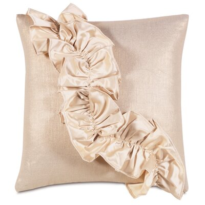 Bardot Reflection Ruffle Throw Pillow by Eastern Accents