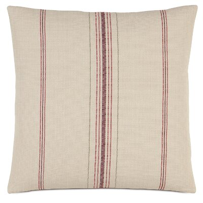 French Country Feed Sack Throw Pillow by Eastern Accents
