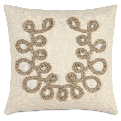 French Country Plaited Loops Throw Pillow by Eastern Accents