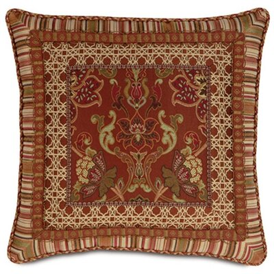 Eastern Accents Toulon Border Collage Throw Pillow