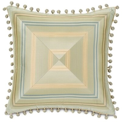 Winslet Camberly Mitered Throw Pillow by Eastern Accents