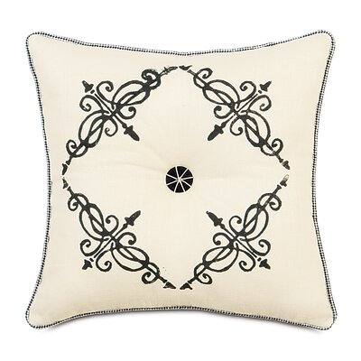 Evelyn Breeze Tufted Throw Pillow by Eastern Accents
