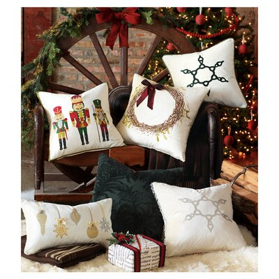 Eastern Accents Deck The Halls The Nutcracker Throw Pillow