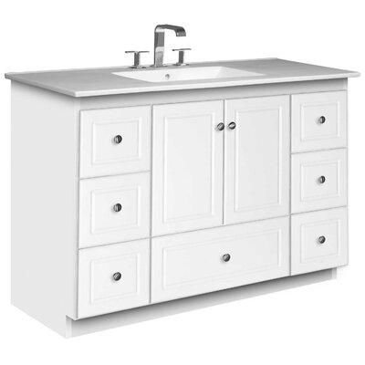 "Simplicity 49"" Single Bathroom Vanity Set Product Photo"