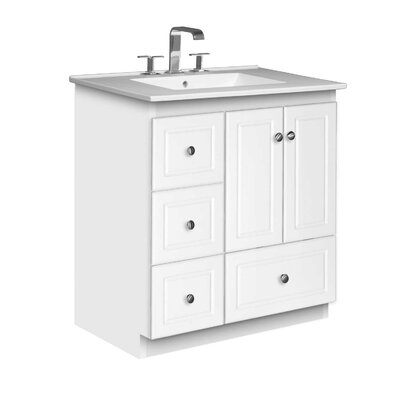 "Simplicity 31"" Single Bathroom Vanity Set Product Photo"