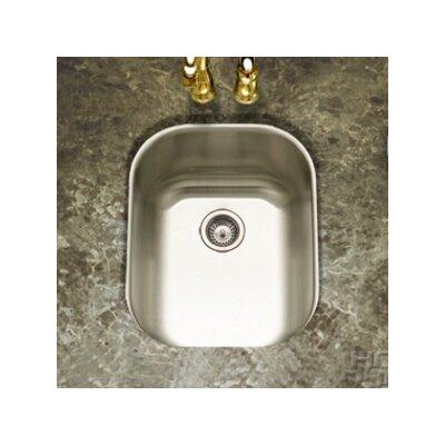 "Club 17.19"" x 13.63"" Undermount Medium Bar Sink Product Photo"