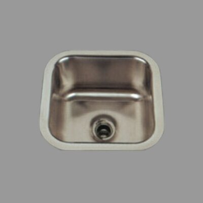 "Stainless Steel 12"" x 12"" Bar Sink Product Photo"