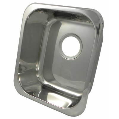 "16"" x 14"" Rectangular Bar Sink Product Photo"