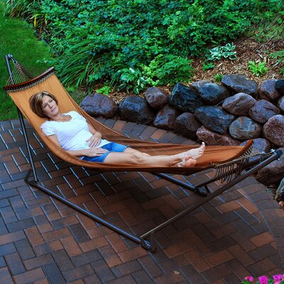 EZ-Cozy Portable Hammock with Stand by Algoma Net Company