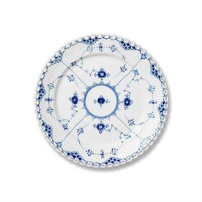 "Royal Copenhagen Blue Fluted Full Lace 7.5"" Salad / Dessert Plate"