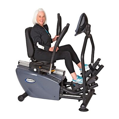 exercise elliptical marcy 2in1 bike