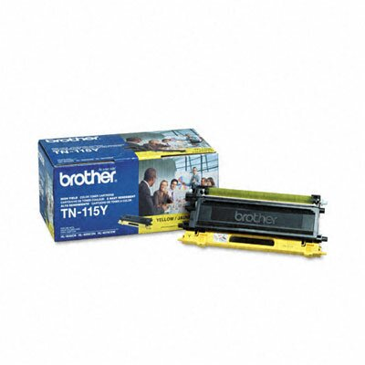 Brother Tn115Y High-Yield Toner, 4000 Page-Yield