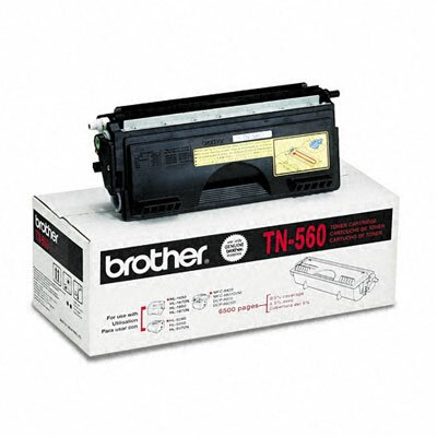 Brother Tn560 High-Yield Toner, 6500 Page-Yield