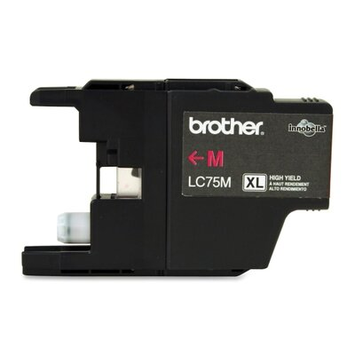 Brother LC75M High-Yield Ink, 600 Page-Yield