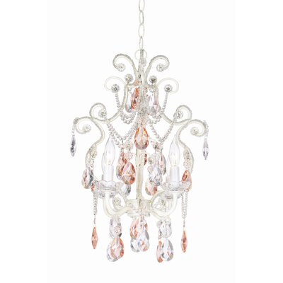 Essentials 4 Light Chateau Elegance Mini Chandelier Product Photo