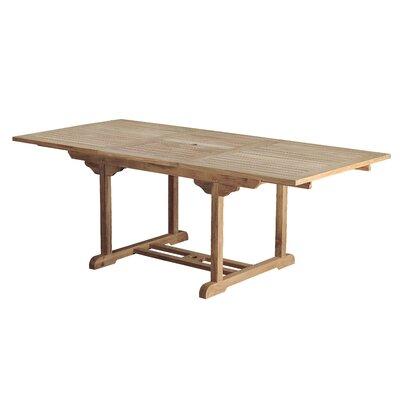 Arbora Teak Bermuda Teak Rectangular Dining Table