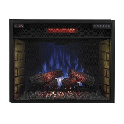 Infrared Insert Electric Fireplace by Classic Flame