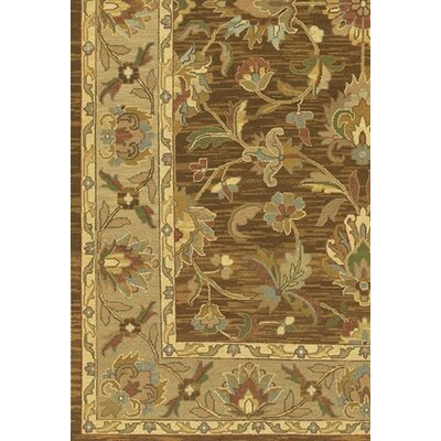 Chandra Rugs Pooja Brown/Tan Area Rug