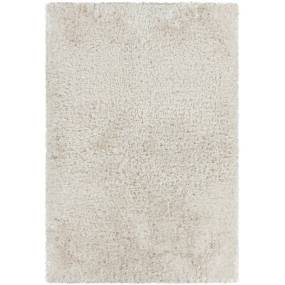 Diano Textured Shag White Area Rug by Chandra