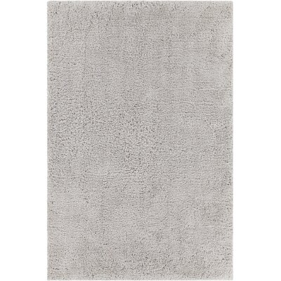 Bella Textured Contemporary Shag Gray Area Rug by Chandra