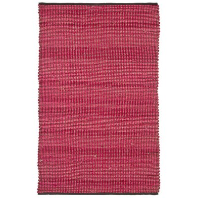 Chandra Rugs Zola Stripe Red Area Rug