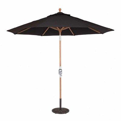 9' Teak Market Umbrella by Galtech