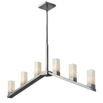 Fredrick Ramond Omni 6 Light Linear Chandelier