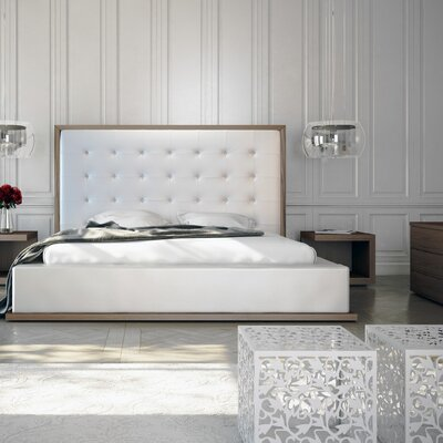 Ludlow Upholstered Panel Bed by Modloft