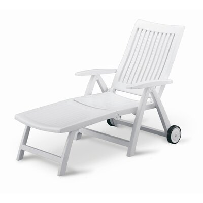 Roma Multi-Position Chaise Lounge by Kettler