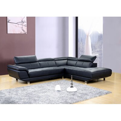 Dela Right Hand Facing Sectional by Hokku Designs