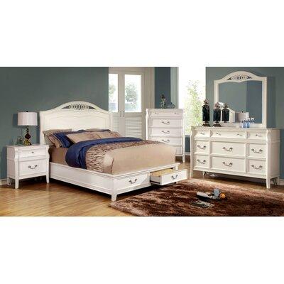 Harlow Storage Platform Customizable Bedroom Set by Hokku Designs