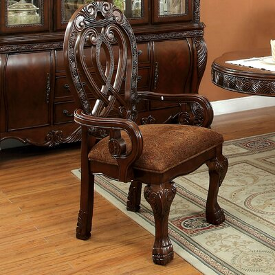 Dolores Formal Dining Arm Chair by Hokku Designs