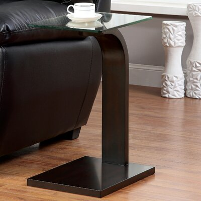 Messina Chairside Table by Hokku Designs