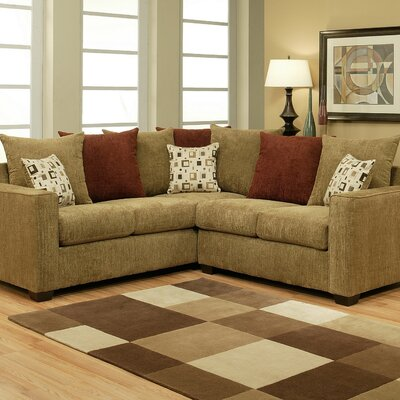 Gertrude Symmetrical Sectional by Hokku Designs