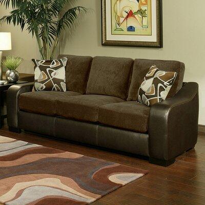 Hokku Designs Cortland Suede / Sofa