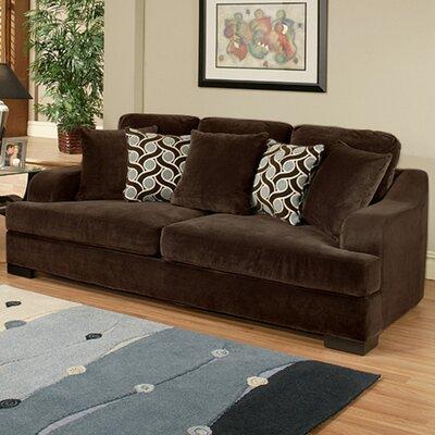 Valenciaga Bonded Suede Sleeper Sofa by Hokku Designs