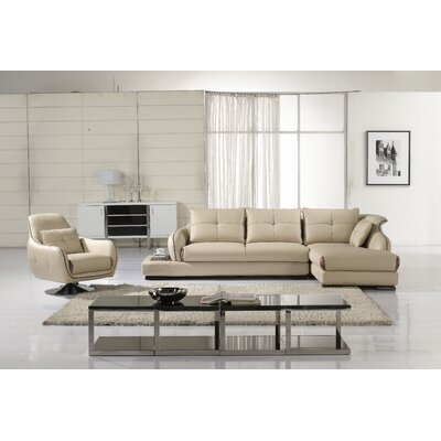 Davis Right Hand Facing Sectional by Hokku Designs