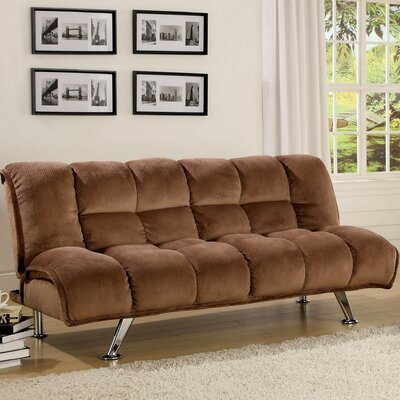 Jopelli Flannel Convertible Sleeper Sofa by Hokku Designs