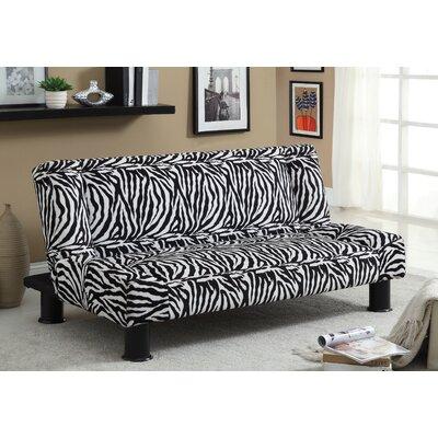 Jhalko Zebra Print Convertible Sofa by Hokku Designs