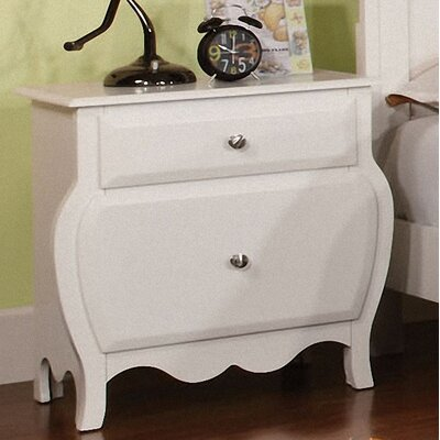 Quinn 2 Drawer Nightstand by Hokku Designs
