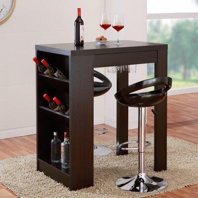 Geardo Bar Set with Wine Storage by Hokku Designs