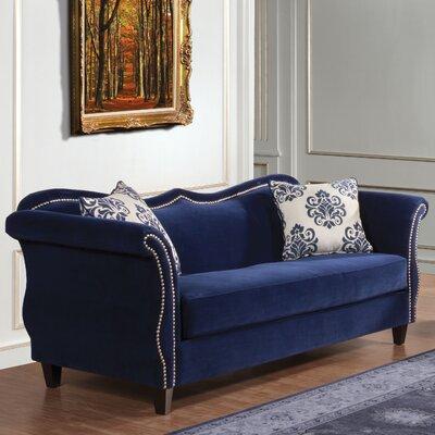 Emillio Premium Upholstered Sofa by Hokku Designs