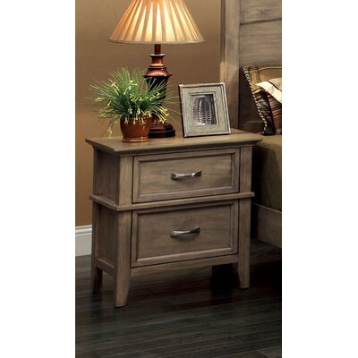 Balboa 2 Drawer Nightstand by Hokku Designs