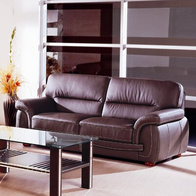 Sienna Leather Sofa by Hokku Designs