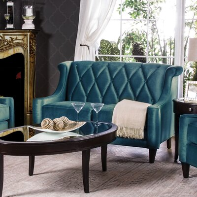 Hokku Designs KUI7553 Contessa Tufted Loveseat