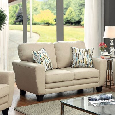 Hokku Designs KUI7590 Prissalla Transitional Loveseat